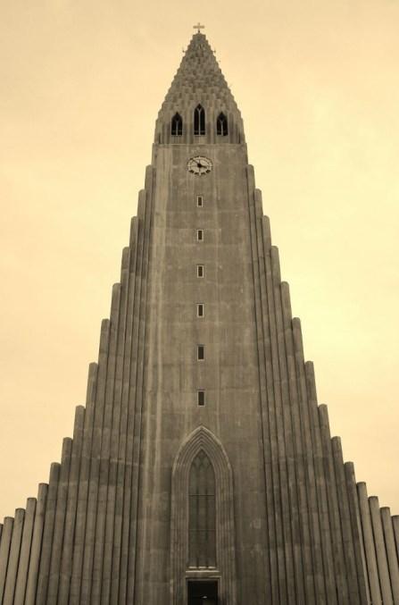 Iceland in Wintertime Hallgrimskirkja Church JetSettingFools