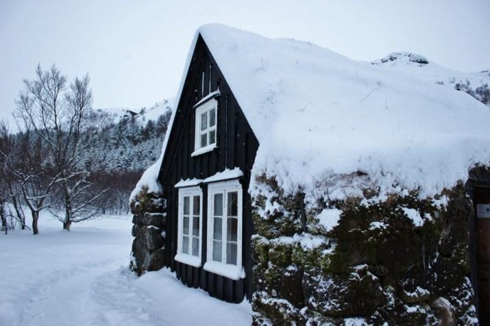 Iceland's South Coast Turf House at Skogar Museum JetSetting Fools