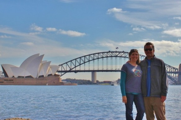 JetSetting Fools Sarah and Kris Sydney, Australia Opera House and Bridge
