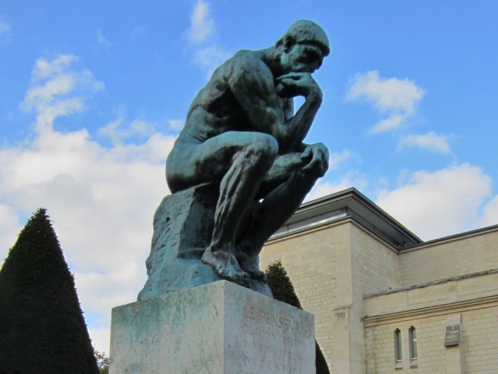 15-Day London Paris Rome Itinerary Paris Musee Rodin The Thinker