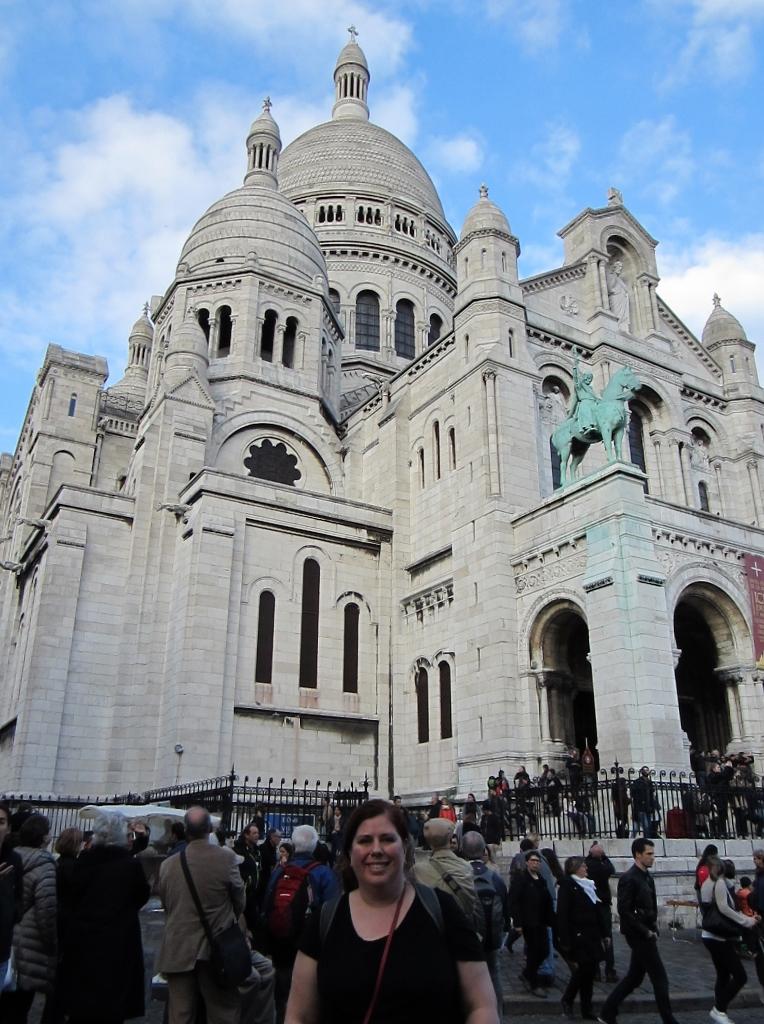 15-Day London Paris Rome Itinerary Paris Sacre-Coeur in Montmartre