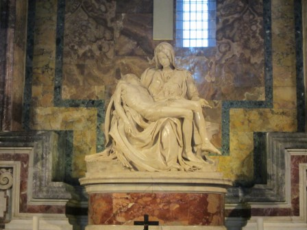 15-Day London Paris Rome Itinerary Rome St. Peter's Basilica La Pieta at The Vatican