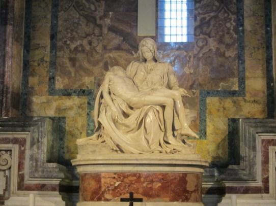 15-Day London Paris Rome Itinerary Rome St. Peter's Basilica La Pieta at The Vatican