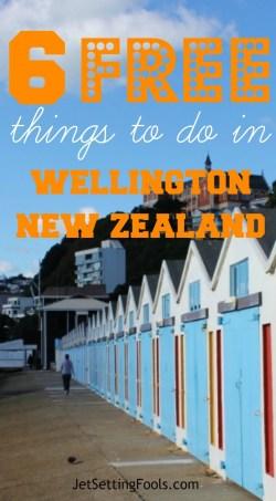 6 Free Things to Do in Wellington, New Zealand Waterfront Walk JetSettingFools.com