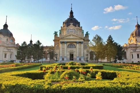 Budapest, Hungary Szechenyi Thermal Baths JetSettingFools.com