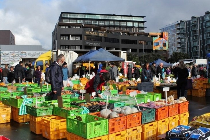 Sunday Farmers Market, Wellington, New Zealand