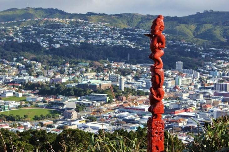 Wellington, New Zealand Statue Art on Mount Victoria JetSettingFools.com