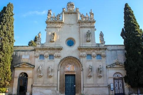 Church of Saints Nicolo and Cataldo in Lecce, Italy