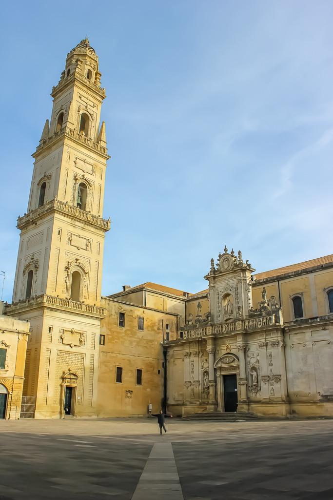 Piazza del Duomo in Lecce, Italy