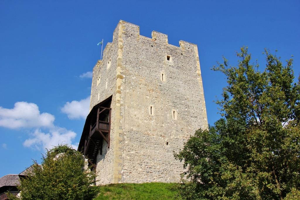 Defensive Frederick's Tower, Celje Castle, Celje, Slovenia