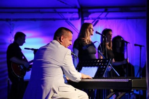 Uros Peric plays piano, Tribute to Ray Charles, Jazz Kamp Kranj, Kranj, Slovenia