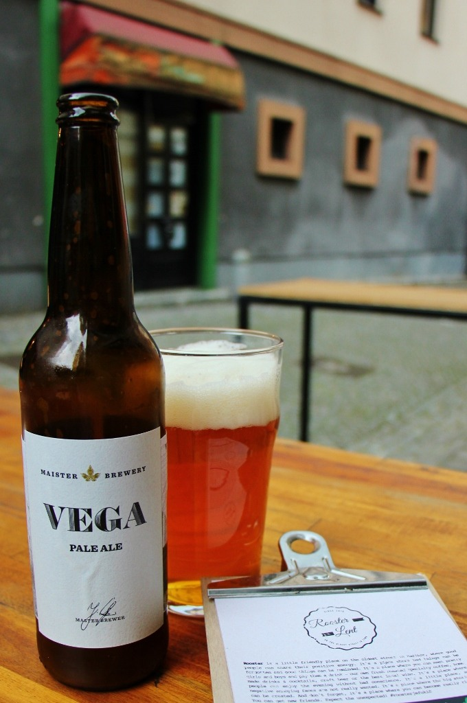 Slovenian Craft Beer at Rooster Lent bar in Lent District in Maribor, Slovenia