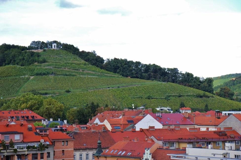 Piramida Pyramid Hill in Maribor, Slovenia
