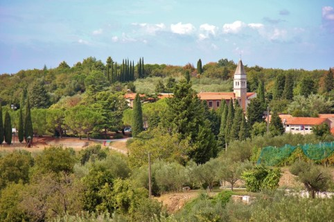 Strunjan Nature Reserve and Church of the Apparition of the Virgin Mary
