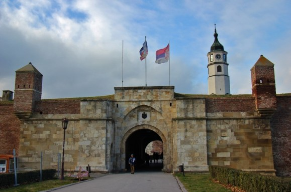 Belgrade Fortress Gate and Tower, Belgrade, Serbia