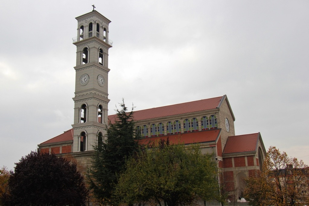 Catholic Cathedral of Blessed Mother Teresa in Prishtina, Kosovo