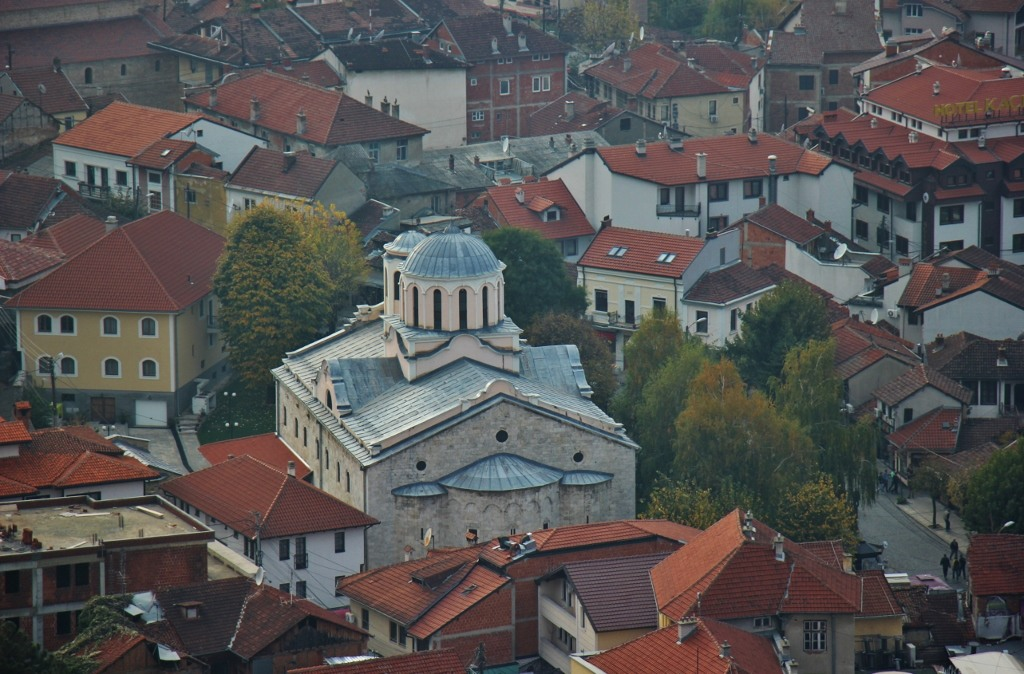Cathedral of St. George in Prizren, Kosovo