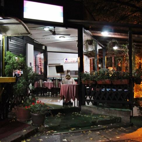 Cubura Restaurant patio in Belgrade, Serbia