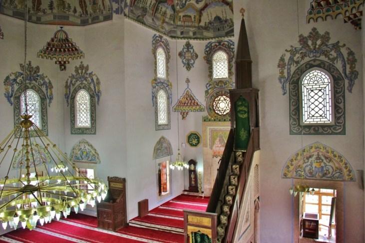 Sinan Pasha Mosque interior, Prizren, Kosovo