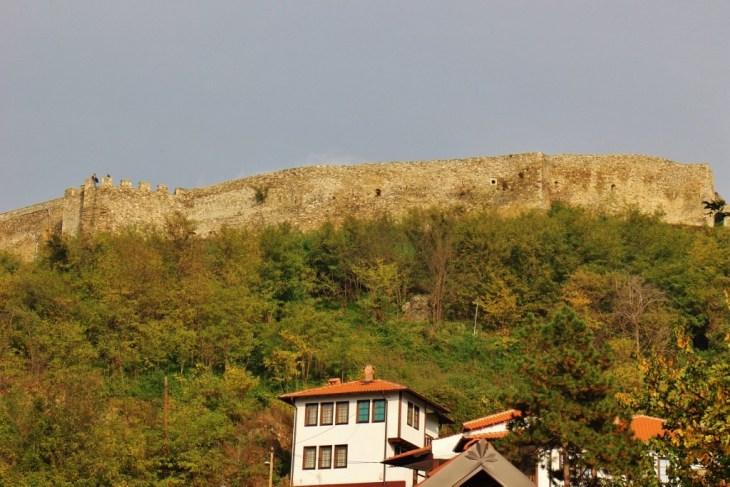 Prizren Fortress in Prizren, Kosovo