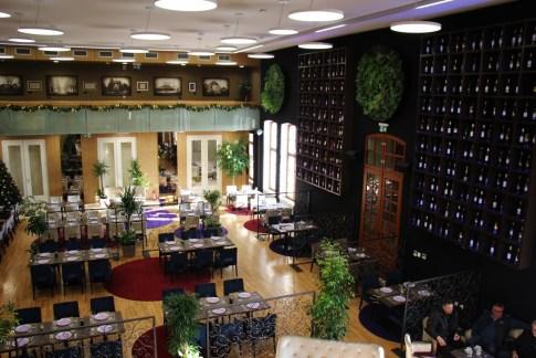Restaurant at Museum of Taste in Osijek, Croatia
