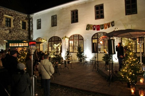 Christmas in Zagreb The Courtyards Advent Event Music at Atru Muzeja Grada Zagreba