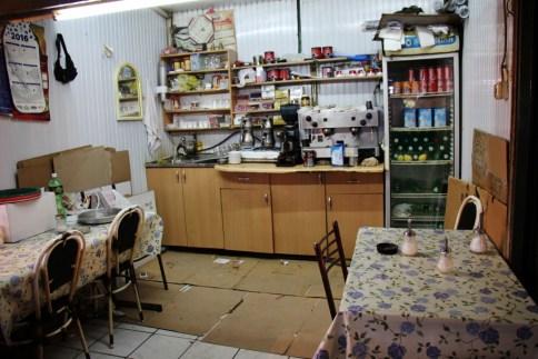 Cafe at Bit Pazar, Old Bazaar, Skopje, Macedonia