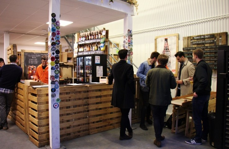 EeBria bar and taproom, Bermondsey Beer Mile, London Craft Beer Crawl