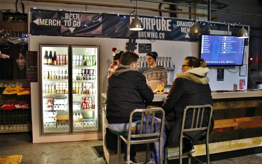Fourpure Taproom Bar, Bermondsey Beer Mile, London Craft Beer Crawl