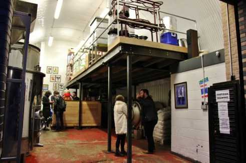 Partizan Brewing Taproom, Bermondsey Beer Mile, London Craft Beer Crawl