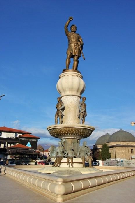 Statue of Philip II of Macedon, Skopje, Macedonia