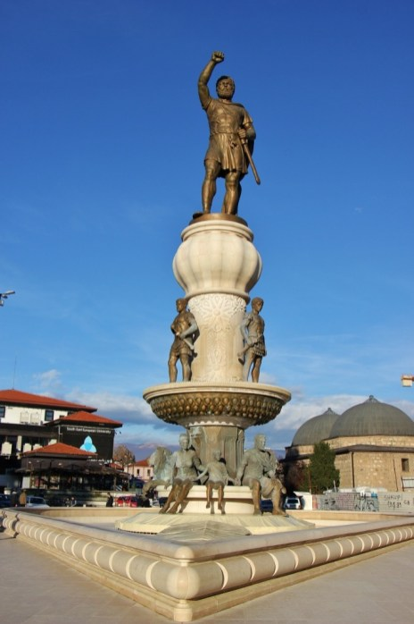 Statue of Philip II of Macedon, Skopje, Macedonia