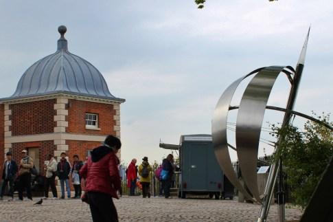 The Prime Meridian 0 Longitude in Greenwich, London, England, jetsettingfools.com
