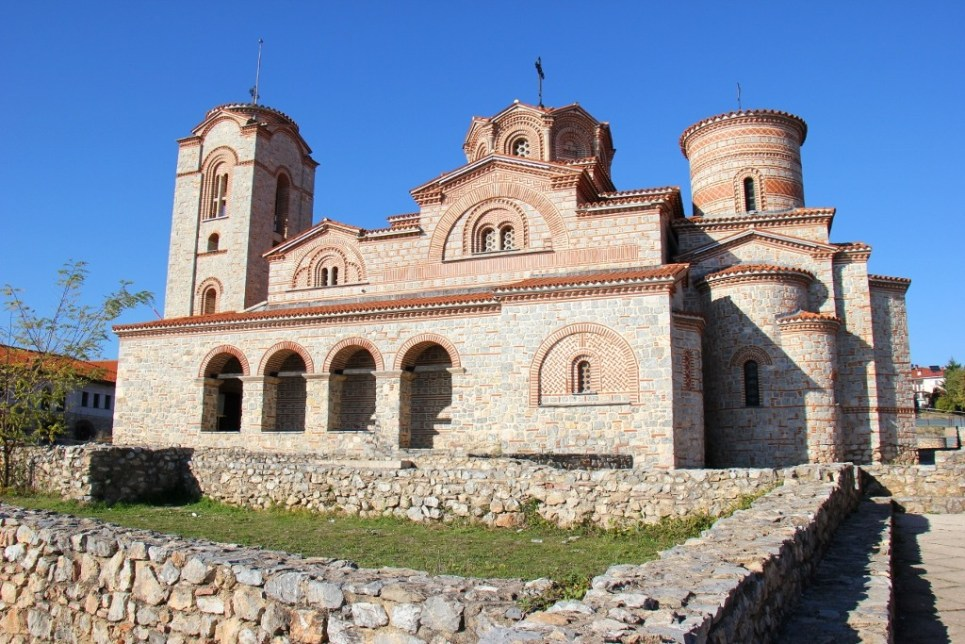St. Clement's Monastery, Lake Ohrid, Macedonia