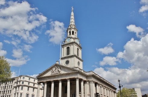 St. Martin-in-the-Fields Church London, England, jetsettingfools.com