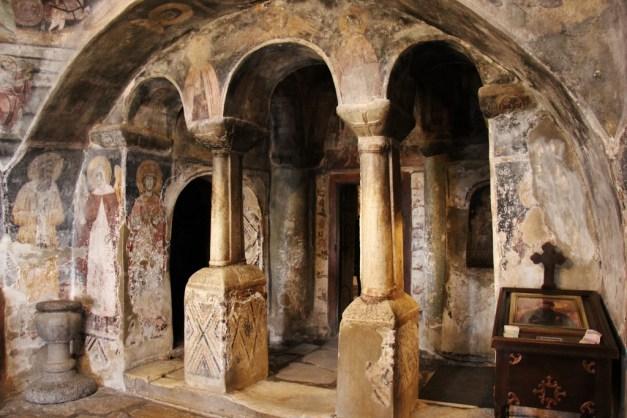 Inside St. Naum Monastery, Lake Ohrid, Macedonia