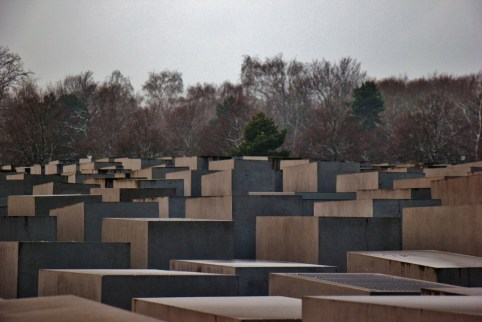 The Memorial to teh Murdered Jews of Europe in Berlin, Germany