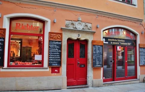 Metgerklause restaurant at Fleischerei Richter in Meissen near Dresden, Germany