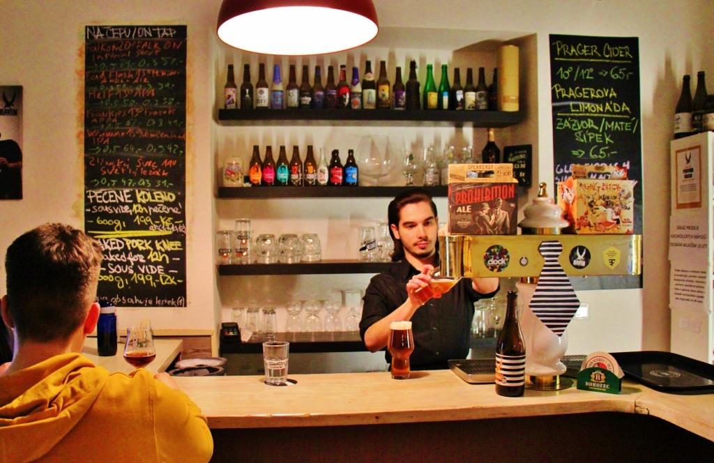 Illegal Beer Bar, Prague, Czech Republic