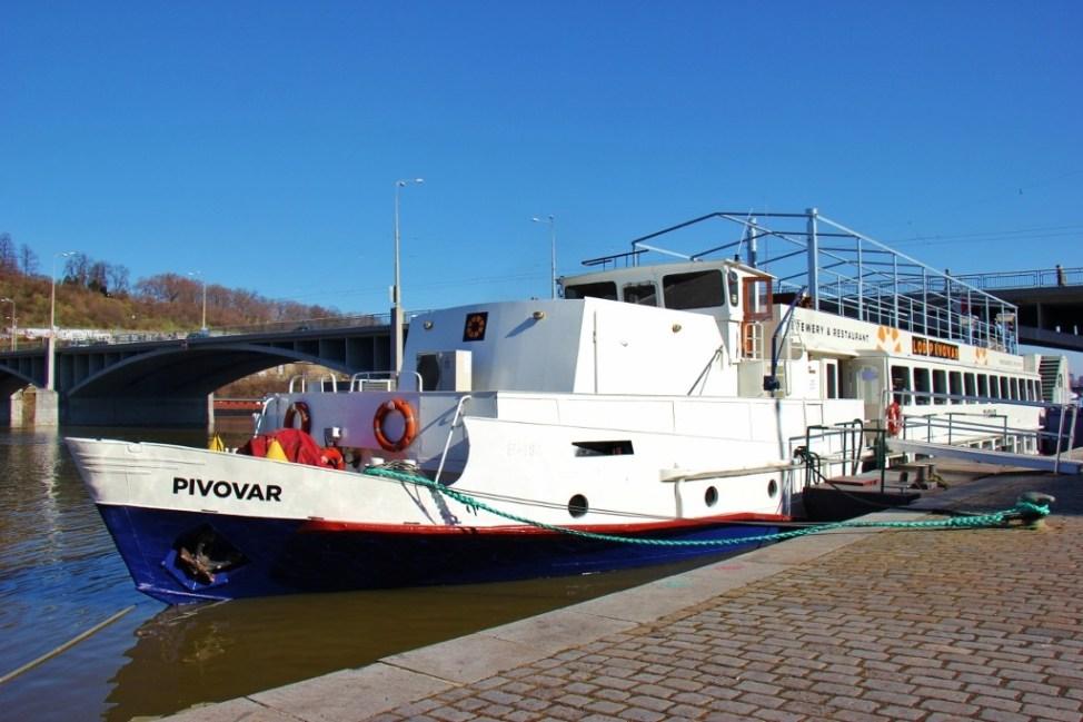 Lod Pivovar Boat and Brewery, Prague, Czech Republic