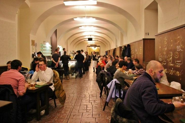 Lokal Doulhaaa Beer Hall, Prague, Czech Republic