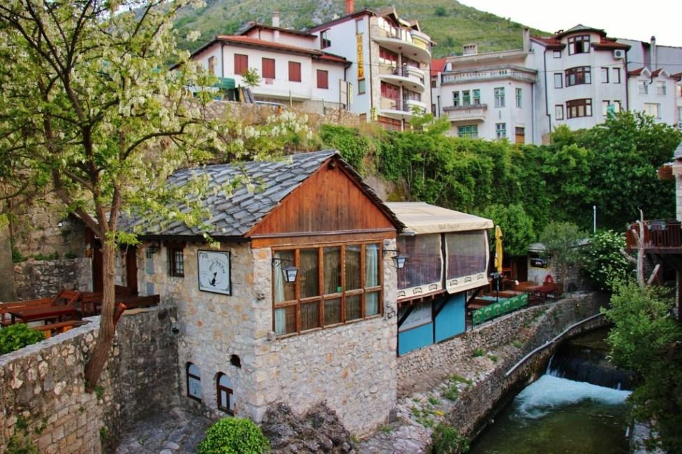 Black Dog Pub in Mostar, Bosnia-Herzegovina