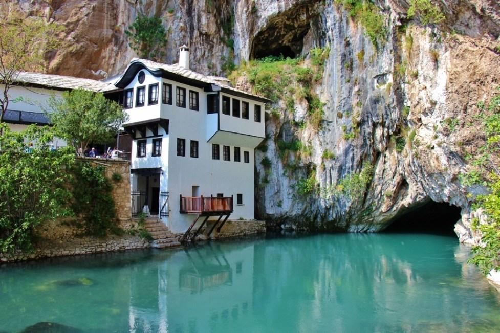 Blagaj Tekija Dervish Monastery near Mostar, Bosnia-Herzegovina