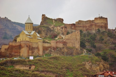 Ancient Narikala Fortress, Tbilisi, Georgia