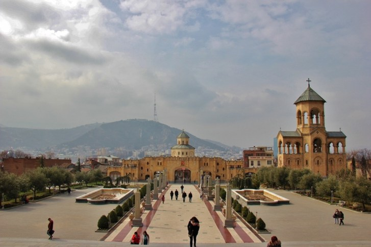 Holy Trinity Sameba Cathedral Complex, Tbilisi, Georgia