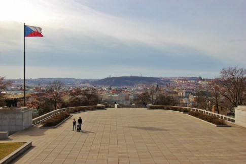 National Monument on Vitkov Hill Terrace Viewpoint, Prague, Czech Republic, JetSettingFools.com