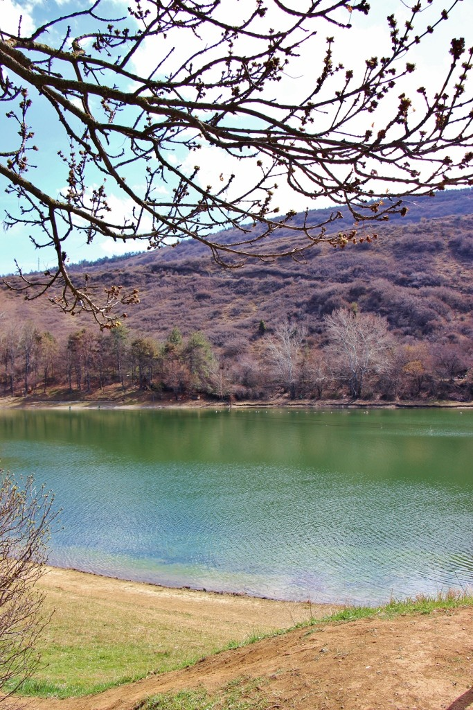 Turtle Lake in early spring, Tbilisi, Georgia