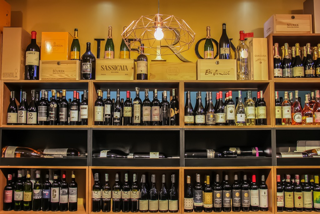 Leroy Wine Shop and Bar in Mostar, Bosnia and Herzegovina