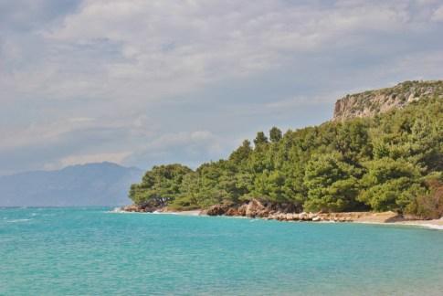 Coastline of Makarska Riviera, Makarska, Croatia