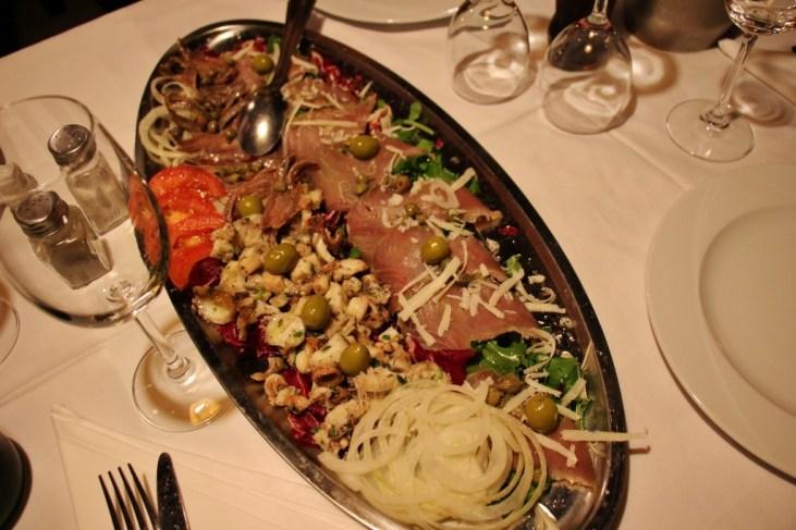 Seafood appetizer at Konoba kod Joze, Split, Croatia